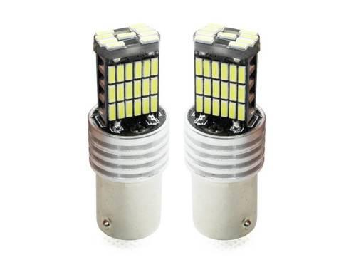 Żarówka samochodowa LED BA15S 45 SMD 4014