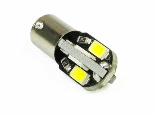 Żarówka samochodowa LED BA9S 8 SMD 5630 CAN BUS 360 stopni