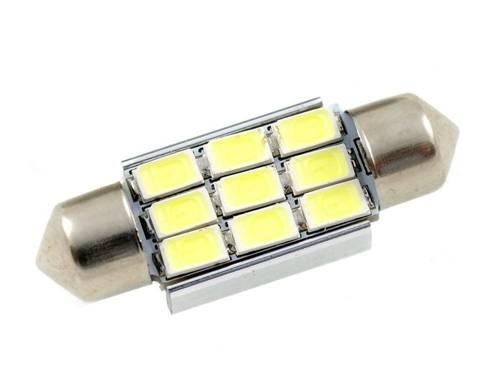 Żarówka samochodowa LED C5W 9 SMD 5630 CAN BUS