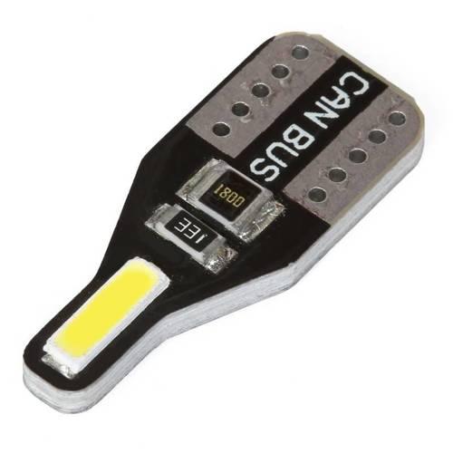 Żarówka samochodowa LED W5W T10 2 SMD 7020