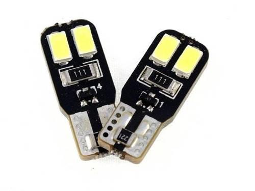 Żarówka samochodowa LED W5W T10 4 SMD 5630 CAN BUS DWUSTRONNA