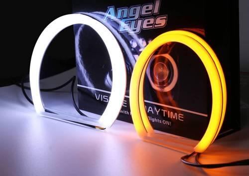 Zestaw Ringów COTTON LED COB DUAL COLOR | A + A - 131 mm + 131 mm