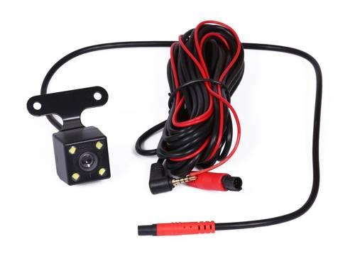 """Zestaw - kamera cofania z rejestratorem jazdy  w lusterku wstecznym 4,3"""" TFT LCD do kamery cofania 12V PZ702-1-DVR"""